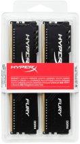 Оперативна пам'ять HyperX DDR4-2400 32768MB PC4-19200 (Kit of 2x16384) Fury Black (HX424C15FB3K2/32) - зображення 4