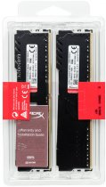 Оперативна пам'ять HyperX DDR4-2400 32768MB PC4-19200 (Kit of 2x16384) Fury Black (HX424C15FB3K2/32) - зображення 5