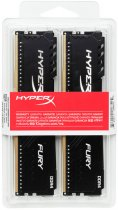 Оперативна пам'ять HyperX DDR4-3000 8192MB PC4-24000 (Kit of 2x4096) Fury Black (HX430C15FB3K2/8) - зображення 4