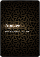 "Apacer AS340X 480GB 2.5"" SATAIII 3D NAND (AP480GAS340XC-1) - зображення 1"