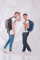 Рюкзак школьный каркасный YES Т-33 Stalwart 44.5x29.5x14.5 Мужской (555521) - изображение 9