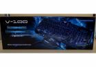 Провідна ігрова клавіатура з 3-я підсвічуваннями і мишкою Atlanfa AT-V100P Комплект Original (100P) - зображення 7