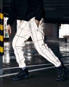 Спортивные штаны Пушка Огонь Bard рефлективные с кантом L - изображение 3
