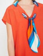 Блузка Koton 8YAK68051PW-401 34 Red (8681890691886) - зображення 6