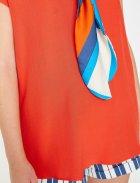 Блузка Koton 8YAK68051PW-401 34 Red (8681890691886) - зображення 7