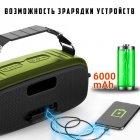 Портативна бездротова Bluetooth колонка Hopestar A20 55Вт Green з вологозахистом IPX6 і функцією зарядки пристроїв (A20G22) - зображення 6