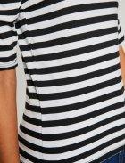 Футболка Koton 8YAK13596QK-S73 S Black Stripe (8681908036609) - зображення 6