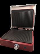Гриль DSP KB1049A прижимной электрический для барбекю, шашлыка и овощей 1800 Вт Красный (11902) - изображение 3