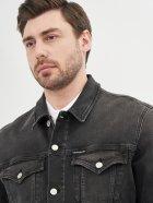 Джинсова куртка Calvin Klein Jeans Foundation Jacket J30J317247-1BY L Denim Black (8719853601426) - зображення 5