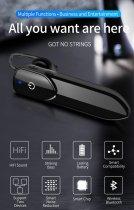 Гарнитура Bluetooth Kebidu V19 Black - изображение 5