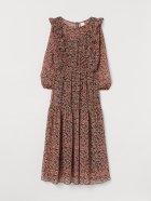 Платье H&M 0852370-1 M Черное (2000001795293) - изображение 4
