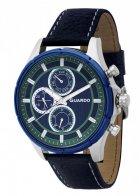 Мужские наручные часы Guardo P11173 S1BlBl - изображение 1