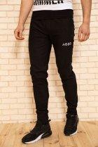 Спортивні штани чоловічі з кишенями колір Чорний, розмір XL FG_03404 - зображення 2