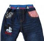 Теплые джинсы Mickey Mouse Hot Pet для мальчика 110 см Синие 5565 - изображение 3