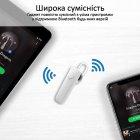 Bluetooth-гарнитура Promate Shift White (shift.white) - изображение 5
