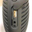 Беспроводная мощная bluetooth колонка с функцией Connect plus TWS 1+1 Sound System P5 Hopestar Портативная с Влагозащитой IPX5 и функцией Зарядки устройств Черная - изображение 3