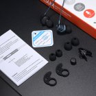 Проводные вакуумные стерео наушники Type-C (1.2м) гарнитура с влагозащитой IPx4 с микрофоном для телефонов смарфонов Plextone Stereo Bass (X56M) Navy - изображение 4