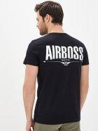 Мужская футболка Airboss Big boss XL Black (2000000000640_A) - изображение 2