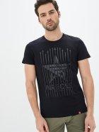 Мужская футболка Airboss Spase expedition S Black/black (2000000001418_A) - изображение 1