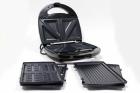 Електричний прижимний гриль вафельниця сендвічниця мультимейкер Crownberg CB 1075 700-800 Вт - зображення 4