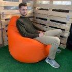 Кресло Груша Kmeshok 130/90 см Оранжевый - зображення 2