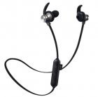 Наушники MP3 беспроводные вакуумные для спорта с микрофоном с поддержкой MicroSD флешки гарнитура Bluetooth HEONYIRRY M22 Черный - изображение 1