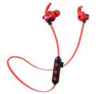 Наушники MP3 беспроводные вакуумные для спорта с микрофоном с поддержкой MicroSD флешки гарнитура Bluetooth HEONYIRRY M22 Черный - изображение 4