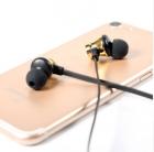 Наушники беспроводные вакуумные с микрофоном гарнитура Bluetooth H21 Золотой - изображение 7