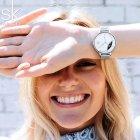 Женские часы Shengke Milan - изображение 6