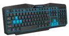 Клавиатура проводная Esperanza ILLUMINATED USB UA Black-blue (EGK201BUA) - изображение 1
