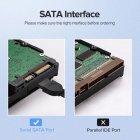 Кабель SATA 3,0 Ugreen для жесткого диска SSD HDD прямой угловой - изображение 3
