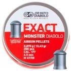 Пули пневматические JSB Diabolo Exact Monster 0.87 гр 200 шт - изображение 1