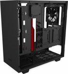 Корпус NZXT H510i Matte Black/Red (CA-H510i-BR) - изображение 7