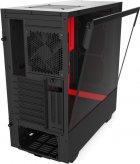 Корпус NZXT H510i Matte Black/Red (CA-H510i-BR) - изображение 12