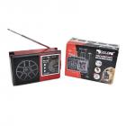 Радіоприймач всехвильовий портативний мережний і акумуляторний з телескопічною антеною Цифрове міні радіо GOLON RX-002UAR з USB mp3, WMA бездротовий FM/AM - зображення 7