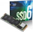 Твердотельный накопитель SSD M.2 INTEL 660P 1TB PCIe 3.0 x4 2280 QLC (JN63SSDPEKNW010T8X1) - изображение 1