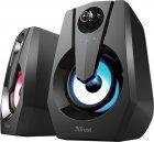 Акустическая система Trust Ziva RGB Illuminated 2.0 Gaming Speaker Set (24071) - изображение 1