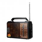Радиоприемник GOLON RX-608 Портативный с телескопической антенной всеволновой Цифровое мини радио на батарейках и сети - изображение 7