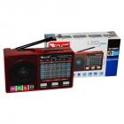 Цифрове міні радіо GOLON RX-8866 Радіоприймач всехвильовий портативний з телескопічною антеною з USB mp3, WMA бездротовий FM/AM мережевий і акумуляторний - зображення 6