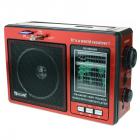 Цифрове міні радіо GOLON RX-006UAR Радіоприймач всехвильовий портативний з телескопічною антеною з USB mp3, WMA бездротовий FM/AM мережевий і акумуляторний - зображення 2