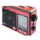 Цифрове міні радіо GOLON RX-006UAR Радіоприймач всехвильовий портативний з телескопічною антеною з USB mp3, WMA бездротовий FM/AM мережевий і акумуляторний - зображення 3