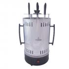 Домашняя кухонная электрическая шашлычница Crownberg CB 7415 на 5 шампуров Мощность 1000 Вт - изображение 2