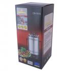 Домашняя кухонная электрическая шашлычница Crownberg CB 7415 на 5 шампуров Мощность 1000 Вт - изображение 5