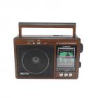 Цифровое мини радио GOLON RX-9966UAR Радиоприемник всеволновой портативный с телескопической антенной с USB mp3, WMA беспроводной FM/AM сетевой и аккумуляторный - изображение 2