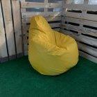 Крісло Груша Kmeshok 130/90 см Жовтий - зображення 2