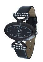 Жіночі годинники NewDay Ch 155d чорні - зображення 1