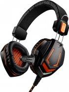 Игровые наушники Canyon Fobos Black/Orange (CND-SGHS3A) - изображение 1