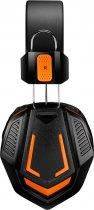 Игровые наушники Canyon Fobos Black/Orange (CND-SGHS3A) - изображение 2
