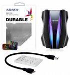 "Жорсткий диск ADATA HD770G 1TB AHD770G-1TU32G1-CBK 2.5"" USB 3.2 Gen1 External Black - зображення 6"