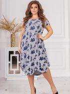 Плаття ALDEM 1750.2 50 Синє (2000000596549_ELF) - зображення 1